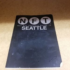 Seattle not for tourist guide coffee table decor